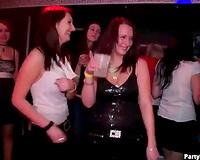 Male dancers banging hawt club doxies