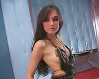 Sasha Grey at her sexiest in a solo and foreplay scene