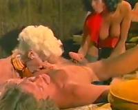 Classic porn trio with Seka