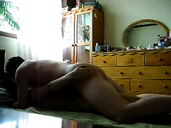 Horny 33 years old Korean white bitch enjoys when I fuck her missionary style