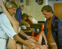 Lustful hotties with hawt bodies receive fucked well by slutty males