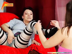 Here's one more passionate lesbo lovemaking for you to have a fun