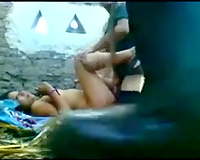 Dirty latin chick cheating wife next door wanted to have Male+Male+Female three-some