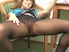 Slutty nympho likes fooling around in front of a camera