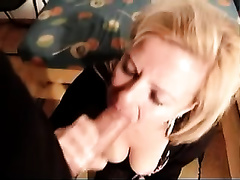 Hungarian milf drives me crazy with a fantastic oral-sex
