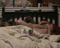 Pregnant babe screwed in bedroom
