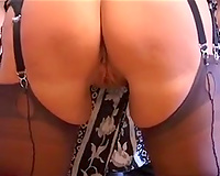 Getting naughty with my friend and his thick aged white bitch