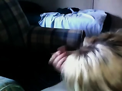 Sinfully lascivious GF sucks my pecker and then swallows my cum