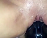 Stunning solo with me stuffing my love tunnel with all that I discover
