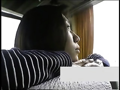 Hidden web camera in the bedroom catches my Japanese slutty white wife cheating
