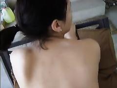 Fabulous white ass of my shy brunette hair hair girlfriend