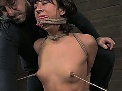Slave Married slut with unshaved vagina is plan to be punished hard