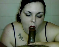 Sexy dark brown big beautiful woman drives me eager with a terrific oral-sex