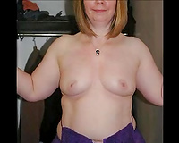 Blonde older white housewife works as an escort housewife for freaks
