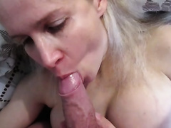 Russian Blonde mother I'd like to fuck Tania Blowjob