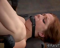 Submissive horny white wife with pale skin acquires her pointer sisters and love tunnel pumped