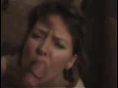 Cock-hungry milf sucks my dick and doesn't crave to stop
