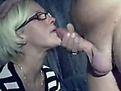 German girlfriend is shy but this babe is admirable at dick engulfing