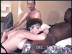Just a dark bull with BBC for great oral sex session in front of my hubby