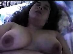 Mature brunette hair non-professional slutwife receives spunk flow on her marangos