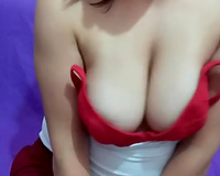 This torrid Turkish seductress has a admirable couple of large titties