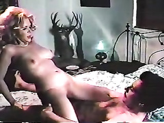 Tasty blonde head breasty hottie gets her pleasing vagina hardcore eaten
