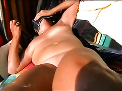My wife acquire stronger orgasms when I finger fuck her snatch on webcam