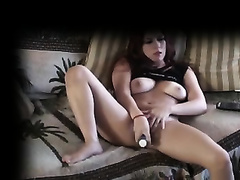 Hidden camera in my abode catches hawt ally of my dirty slut wife