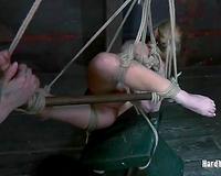 Salacious nympho acquires brutally punished for her bad behavior