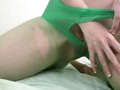This golden-haired is seriously hot and this babe likes to fuck her slit with her sex toy