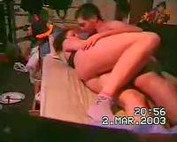 Hot freaking in the bedroom