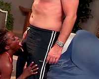 White guy fucking a dark playgirl
