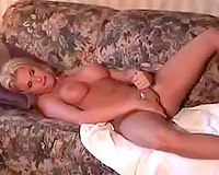 I Wants Black Cock! Amateur a most beautiful shemale plays with herself