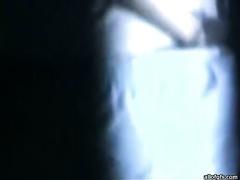 Hidden camera caught Indian slutty wife sucking hard schlong