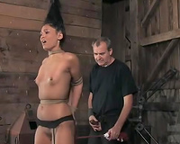 BDSM-loving chick Jade acquires beaten and fucked by a dominating chap
