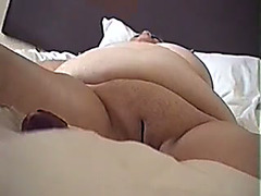 Playing with large bulky cunt of my neighbour housewife on webcam