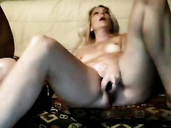 My amateur wife is not shy to masturbate in front of a cam
