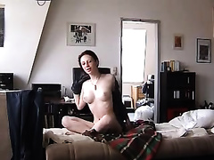 20 year old chat model disrobes nude and masturbates for me on livecam