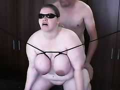 Four eyed doxy in glasses desires me to team fuck her from behind