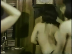 Old homemade sex tape with me and my allies dancing topless