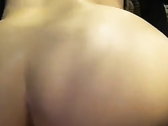 Doggy style pounding for my white bootyful girlfriend
