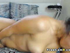 Sexy Hot Chick getting Wet and Wild during the time that Toying with Dildo