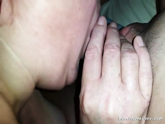This 10-Pounder crazed slut is using her smutty throat correctly