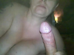 Chubby hotwife has anal cowgirl sex