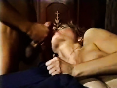Lusty blond blows hard knob and gets her cum-hole rammed hard