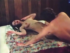 Beautiful dark brown white bitch masturbates whilst watching her stud fuck one more woman