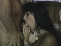 Horny and impure whore with priceless butt sucks the dong