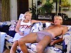 Blonde jerk with his big jock permeated a hawt and hawt blondie