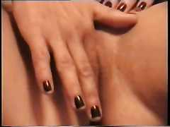 Wet amateur white cum-hole of my hotwife fingerfucked