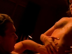 My fleshly dark brown dirty slut wife rides my cock and doesn't wish to stop